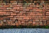 Weathered Brick Room — Stock Photo