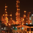 Petrochemical oil refinery plant — Stock Photo