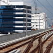 Railway track of sky train — Stock Photo