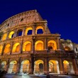 Colosseum rome italy night — Stock Photo #11239299