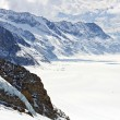 Great Aletsch Glacier Switzerland — Stock Photo #11239497