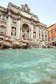 Trevi fountain rom — Stockfoto