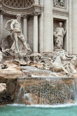 Trevi Fountain Rome — 图库照片