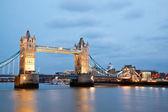 London Tower Bridge Twilight — Stock Photo