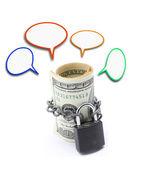 Money Saving Insurance Concept — Stock Photo