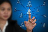 Business decentralization concept — Stock Photo