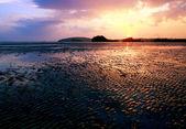 Sunset beach thailand — Stockfoto