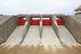 Water gate dam — Stock Photo
