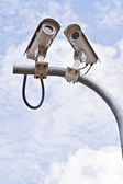 CCTV Security camera — Stock Photo