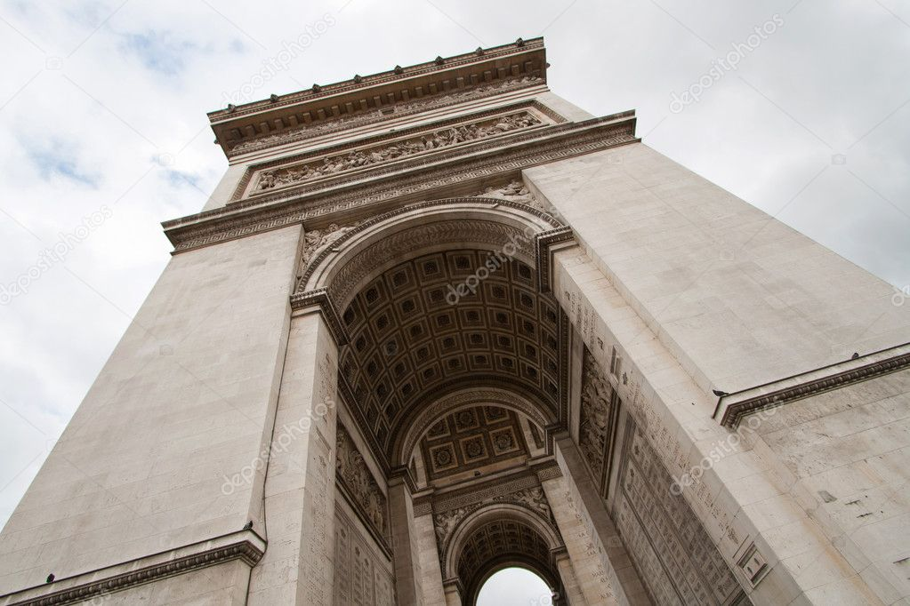 Arc de Triomphe or Arch of Triumph Paris France — Foto Stock #11363900