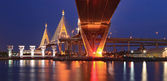 Mega Bridge Panorama Bangkok — Stock Photo