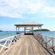 Stock Photo: Jetty walkway