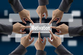 Diverse business motivation — Stockfoto
