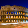 Colosseum rome italy night — Stock Photo #11460091