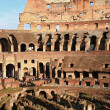 Colosseum with Sunny Sky - Stock Photo
