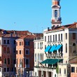 Clock Tower in Grand canal Venice, Italy — Stock Photo