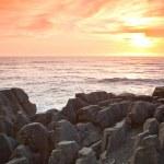 New Zealand Grand canyon Sunset — Stock Photo #11460143