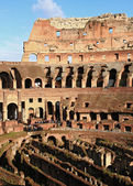 Colosseum with Sunny Sky — Stock Photo
