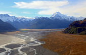 Mountain Cook Landscape New Zealand — Stock Photo