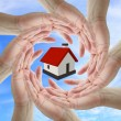 Home isurance concept — Stock Photo
