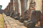 Bezobsługowe posągu buddy — Zdjęcie stockowe