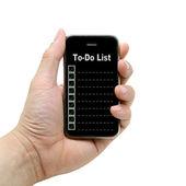 To Do List — Stock Photo