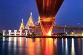 Puente industrial Bangkok — Foto de Stock