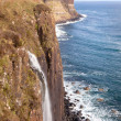Kilt rock Waterfall Scotland — Stock Photo