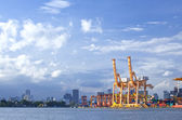 海港口码头 — 图库照片