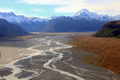 Tasman glacier mount cook — Stock Photo