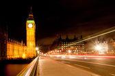 Big Ben from Westminster Bridge — Stock Photo