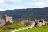 Ruins of Urquhart Castle UK — Stock Photo