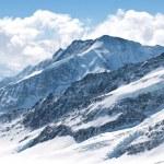 Great Aletsch Glacier Jungfrau Switzerland — Stock Photo