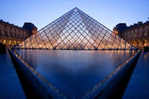Louvre Museum Paris — Stock Photo