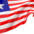 Stock Photo: Flags of Liberia