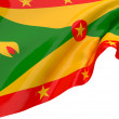 Vector Flags of Grenada — Foto de Stock