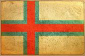 Flagga på åldern pappersstruktur — Stockfoto