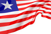 Flags of Liberia — Stock Photo