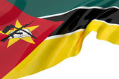 Flags of Mozambique — Stock Photo