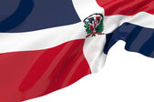 Vector Flags of Dominican Republic — Stock Photo