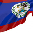 Vector Flags of Belize - Stock Photo