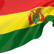 Vector Flags of Bolivia - Stock Photo