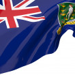 Vector Flags of British Virgin Islands - Stock Photo
