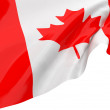 Vector Flags of Canada - Stock Photo