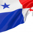 Stock Photo: Vector Flags of Panama