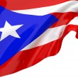 Vector Flags of Puerto Rico — Stock Photo