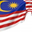 Illustration flags of Malaysia — Stock Photo