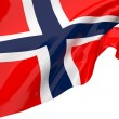 Vector Flags of Norway — 图库照片