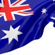 Illustration flags of Australia - Stock Photo