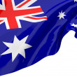 Stock Photo: Illustration flags of Australia